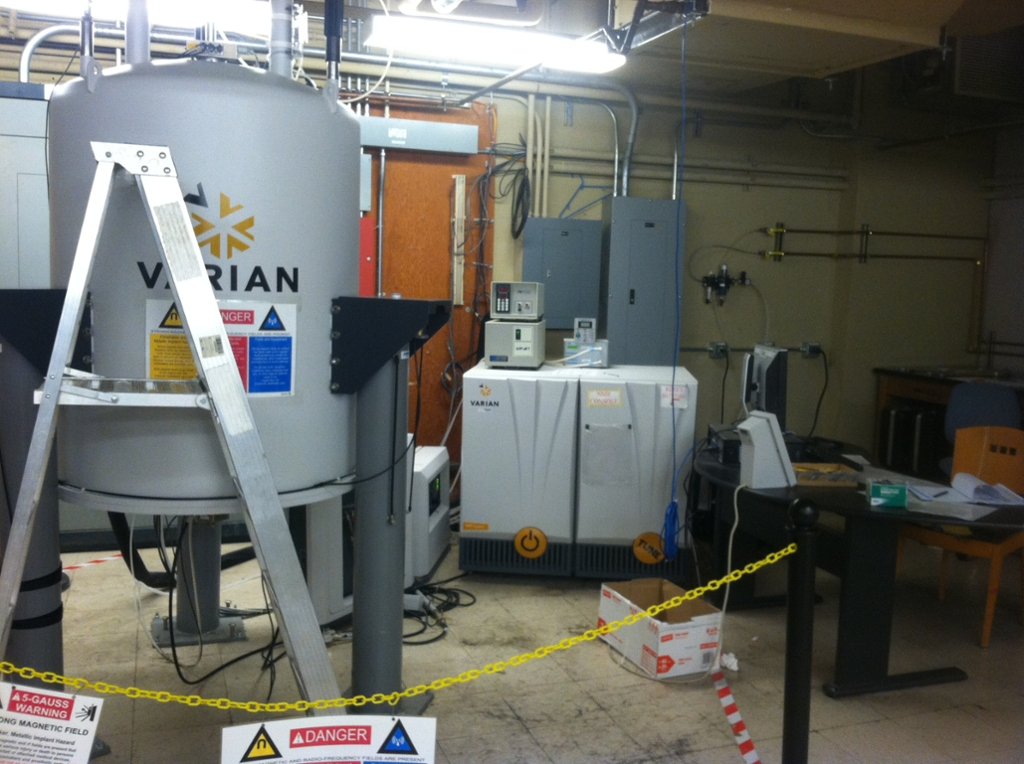 Nmr Facility 600 Mhz Vnmrs Chemistry 93